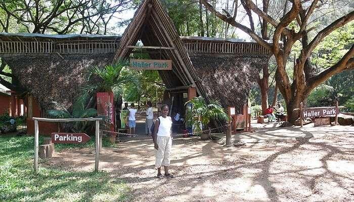 famous park in Kenya