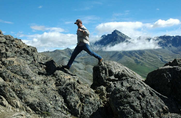 Climber Outdoors Hike Mountain Climb Adventure
