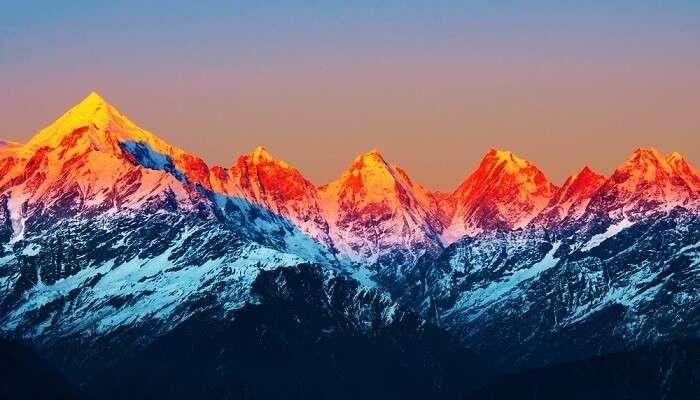 The Himalayan Ranges India
