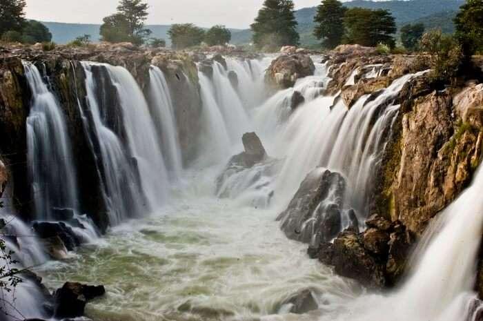 Hogenakkal Falls near Mysore