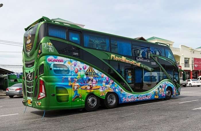 Luxury Bus View