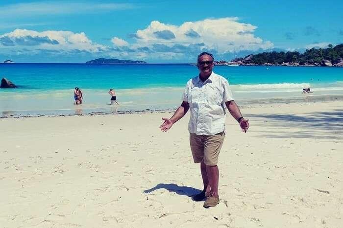 amidst freshness of the beaches