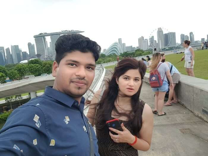 enjoyed the vibe of Singapore