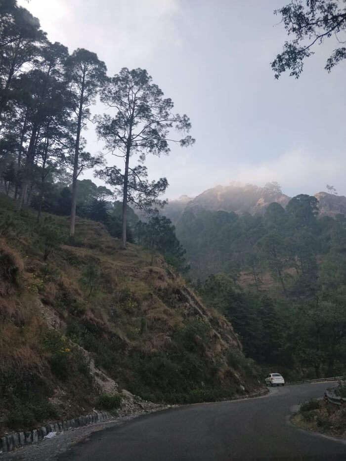 way of the journey to Nainital
