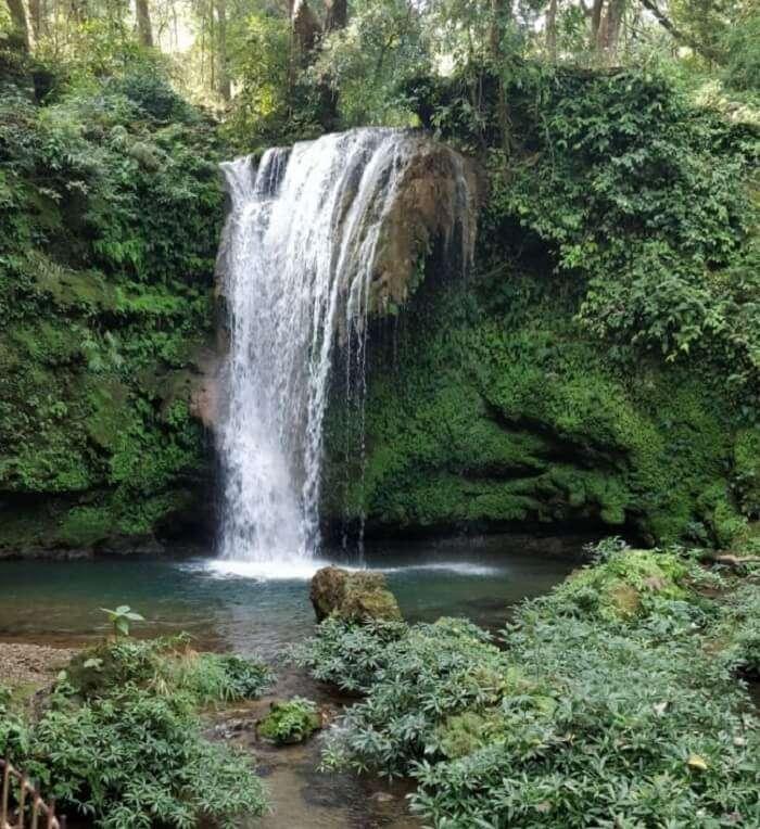 visited Corbett falls