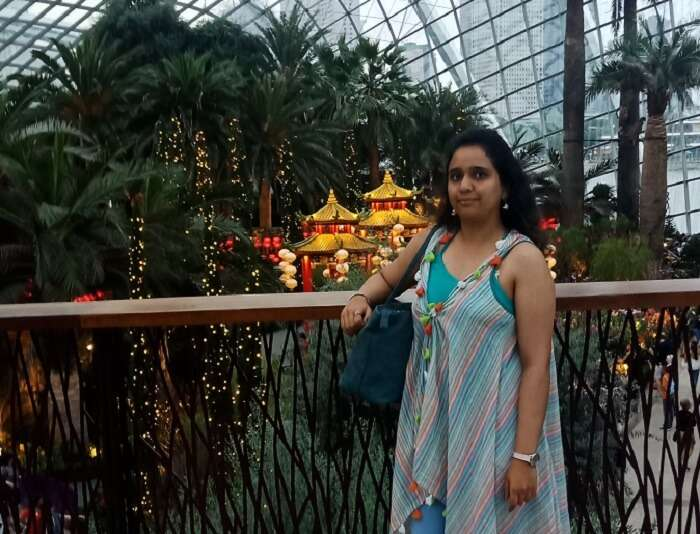 one click at the gardens by the bay