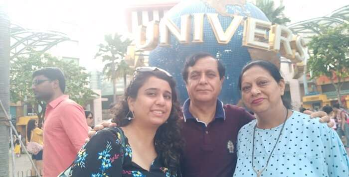 together at the Universal Studio