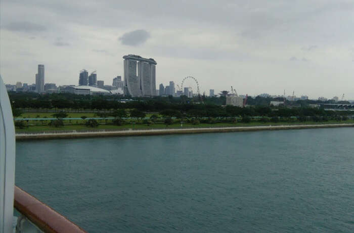 view of the Marina Bay