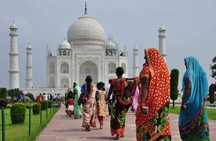 White-ivory Trip Taj Mahal Architecture