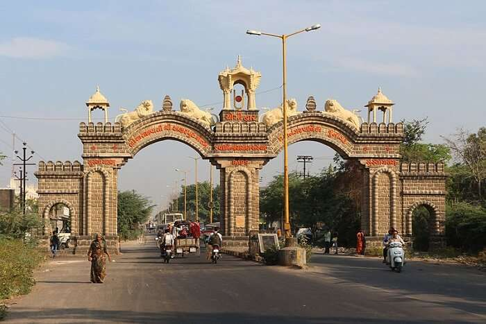 famous gate in the city