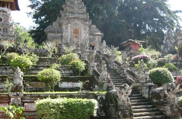 Kehen Temple View