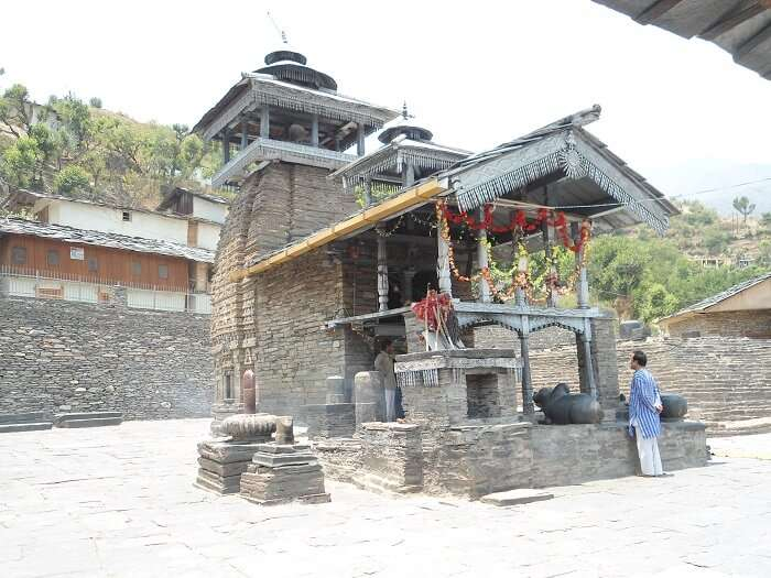 Lakhamandal Temple in Chakrata