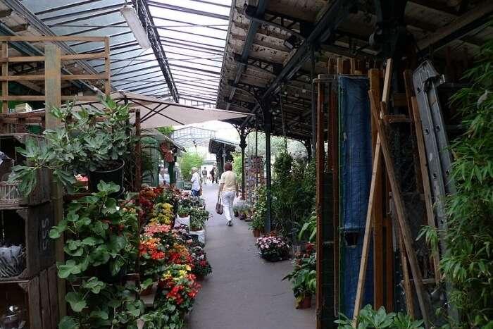 Le marché aux Fleurs et aux Oiseaux