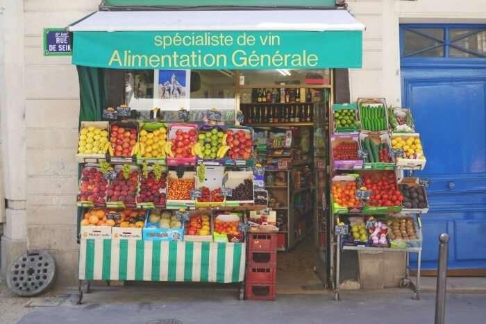 Le marché de Belleville