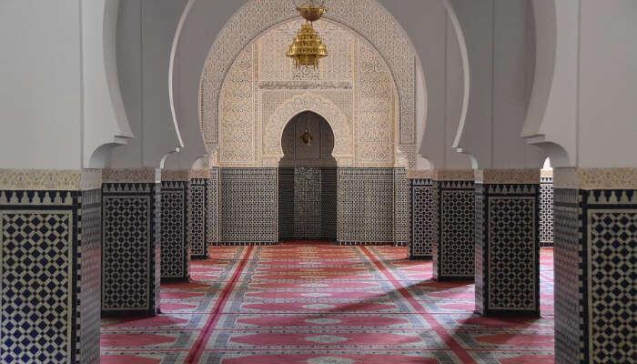 A Mosque Hallway