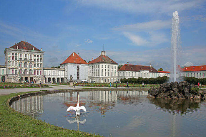Nymphenburg Palace View