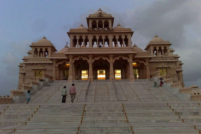 temple in the city