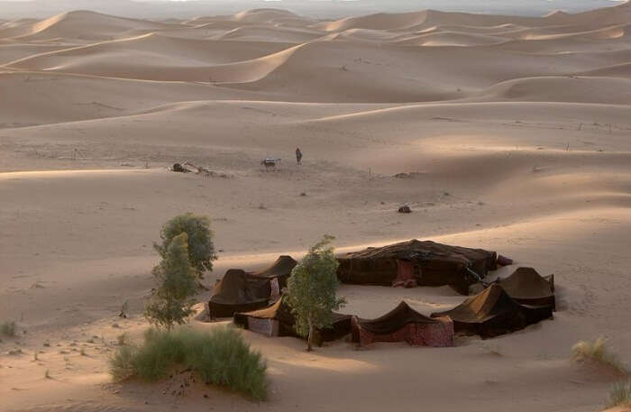 View Of Sahara Desert