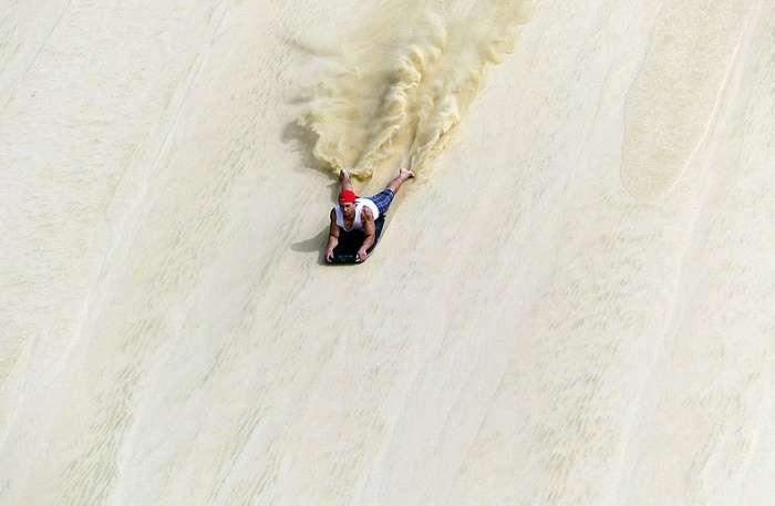 Sandboarding View