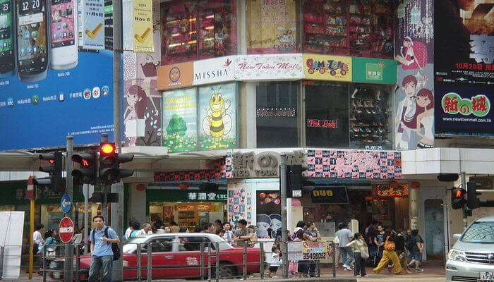 Shopping In Mong Kok