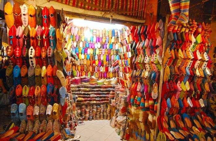 Souks Of Morocco