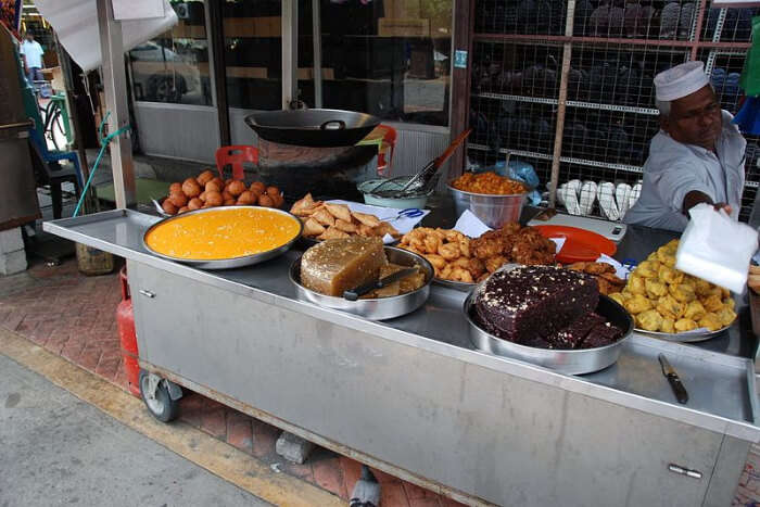 Street food outlets in Penang