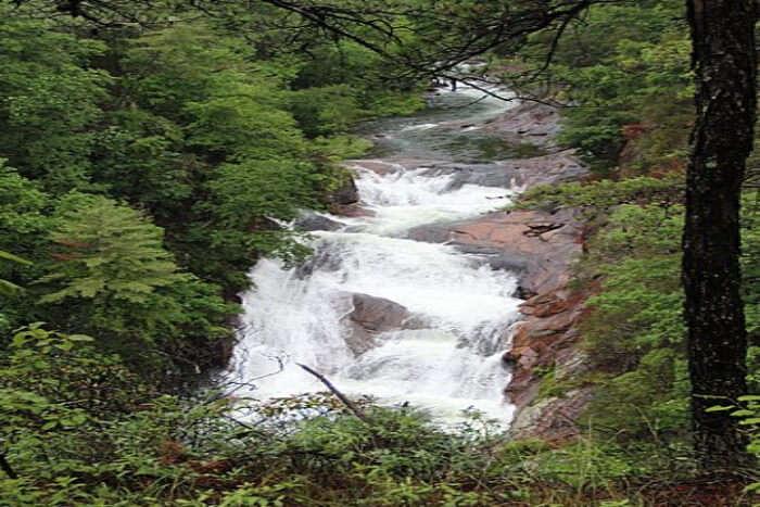 Tallulah Gorge, Tallulah Falls