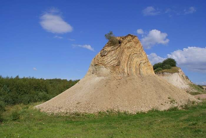The Fur Island in Denmark
