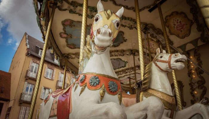 A Horse Carousel