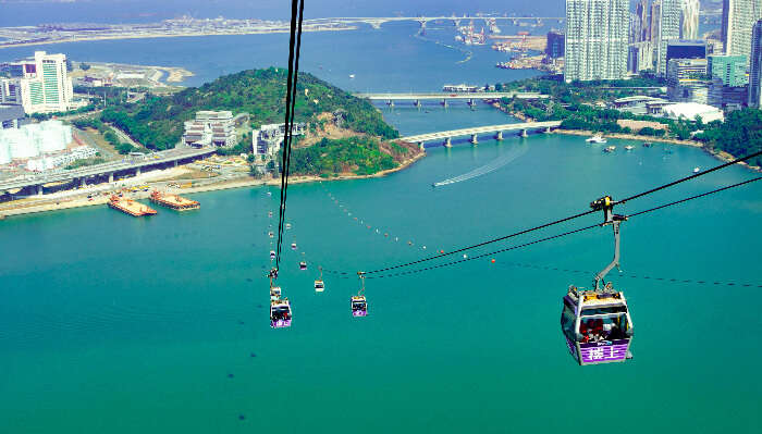 Beautiful View of Tung Chung