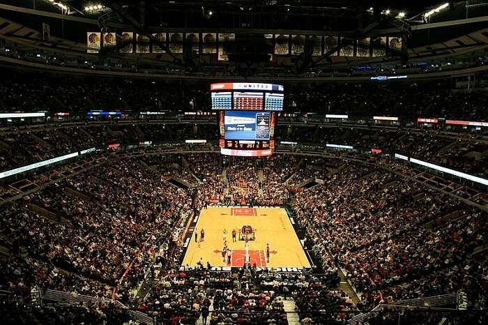 stadium full of crowd