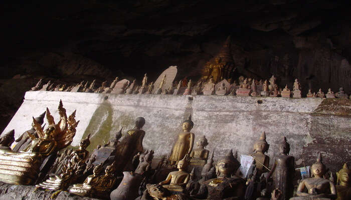 Visit the Pak Ou Caves