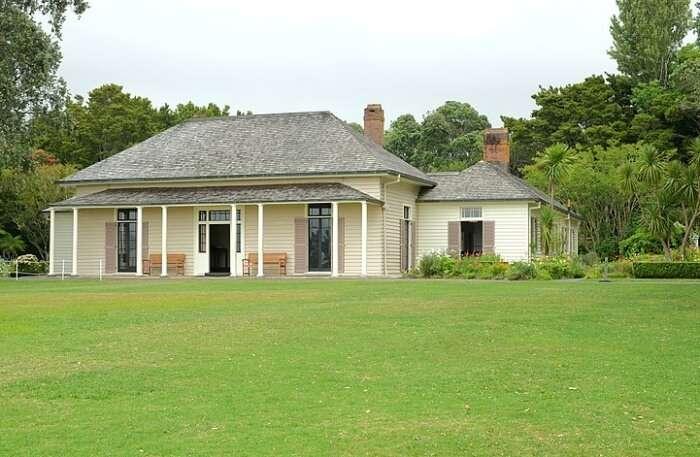 Waitangi Treaty Grounds View