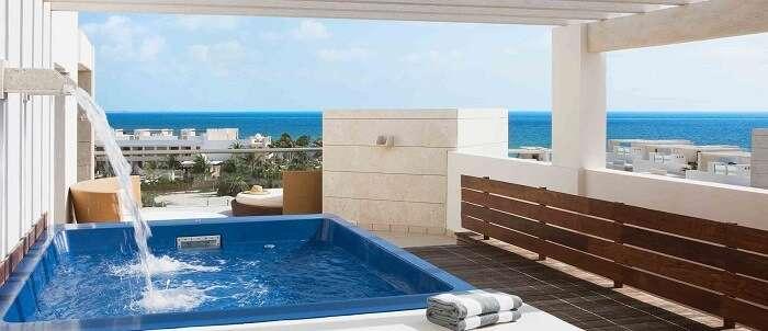 pool in beloved playa mujeres