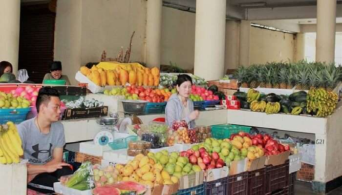 farmers market thimphu