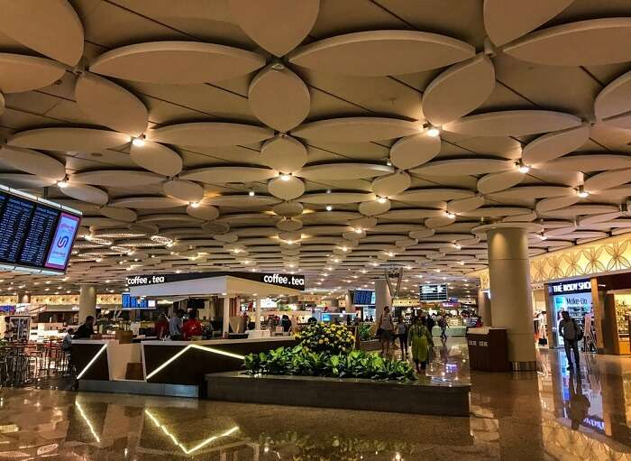 inisde mumbai airport