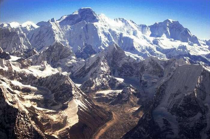 Nangpai glaciers