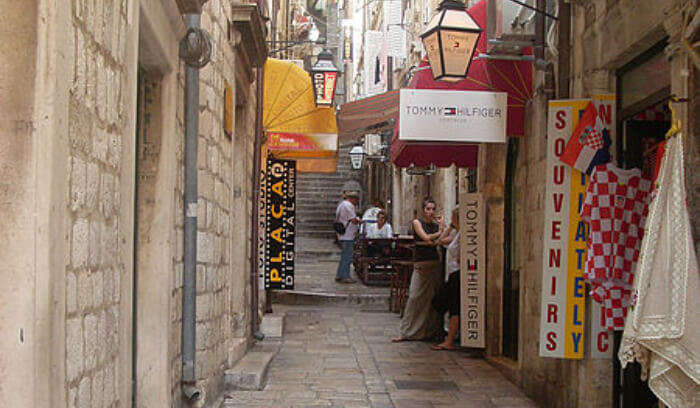shopping in Dubrovnik