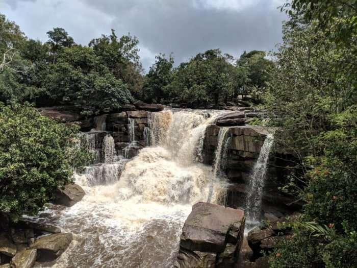 waterfall in kampot