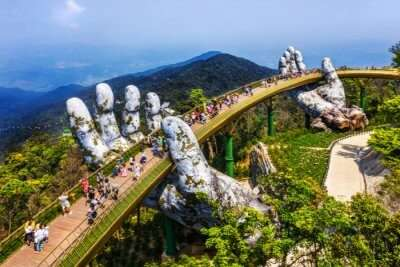 Vietnam Golden Bridge