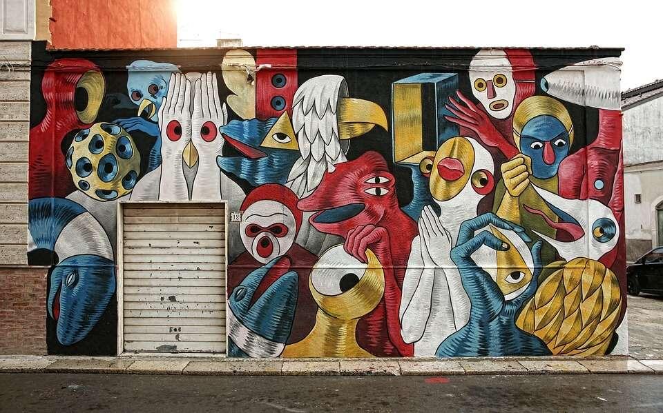 street art at Darwin Ecosysteme