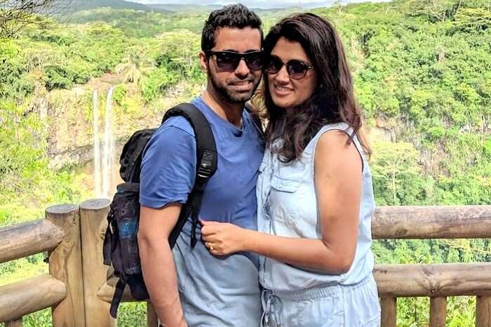 Ritesh Honeymoon trip to Mauritius