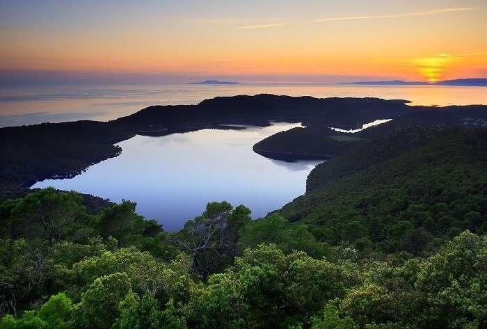 visit Mljet National Park in Croatia