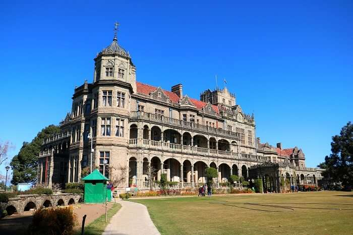 stopped at the Viceregal Lodge