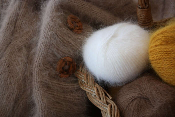 Thread Angora Soft Cat's Cradle Sew Fluffy Wool