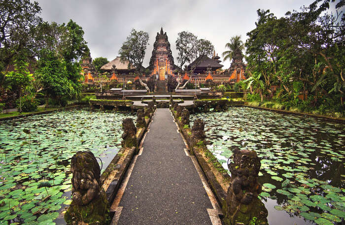 Architecture Of Ubud Water Palace