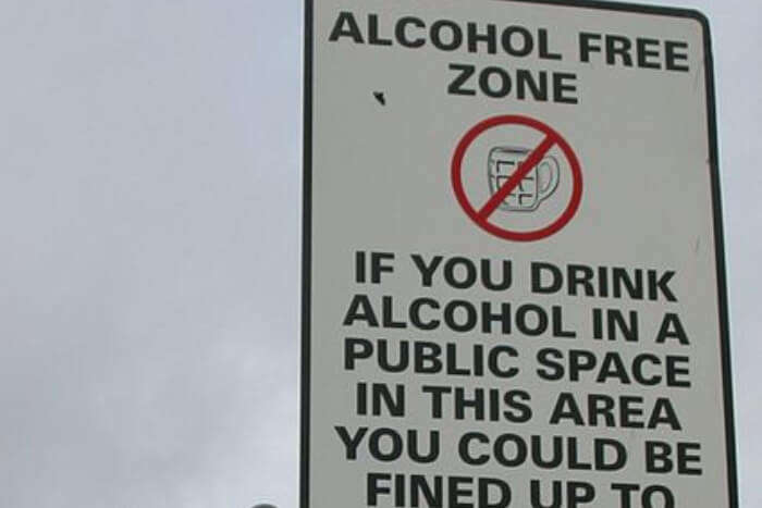 Avoid Drinking In Public