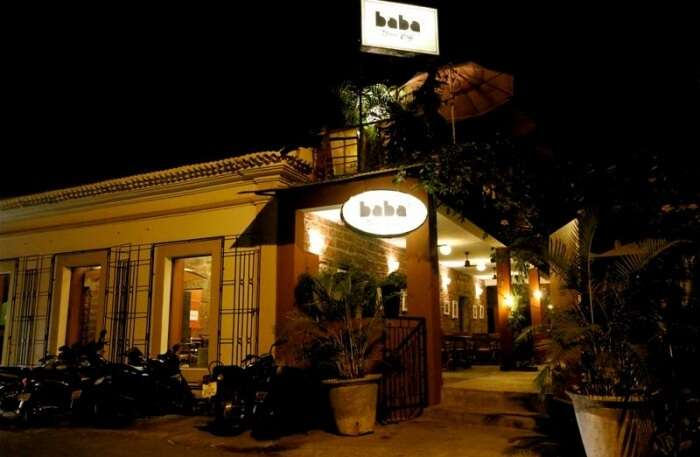 Baba's Wood Cafe In Panjim