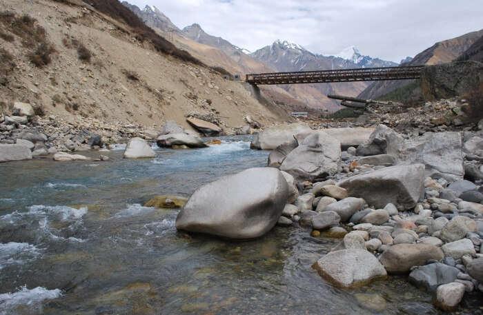 Baspa River in Himachal Pradesh