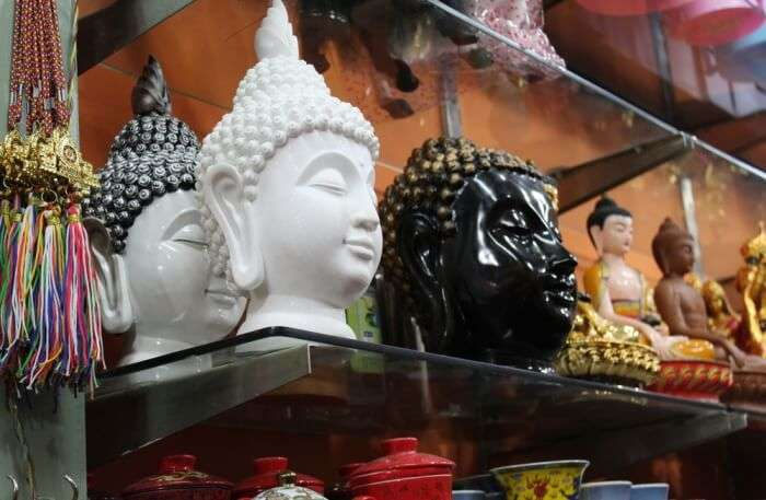 Buddhist Figurines & Prayer Flags
